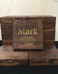 wooden personalized gifts custom cigar box groomsmen best personalized gift