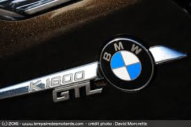 logo bmw essai bmw k 1600 gtl exclusive