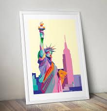 new york pop art canvas print pop art gifts pop art shop