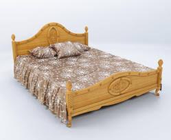 wooden base bed wooden base bed 3d models turbosquid