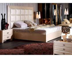 Transitional Style Bedrooms by Modern Style Champagne Bedroom Set 44b220set
