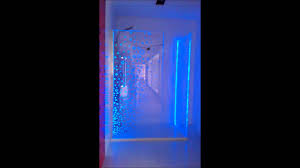 led shower enclosure youtube