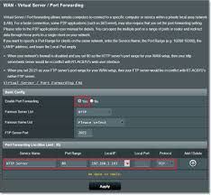 auto port forwarding tool wan how to set up server port forwarding in asuswrt