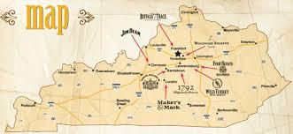 kentucky map bardstown eats drinks celebrating bourbon on national bourbon day
