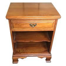 davis cabinet company cherry wood nightstands aptdeco