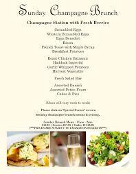 menu for brunch delta lake inn restaurant bar