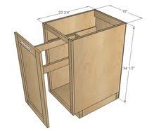 Kitchen Cabinet Blueprints by A Tilt Out Garbage And Recycling Cabinet People Kitchens And House