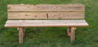 Building Wooden Garden Bench by Simple Wooden Bench Treenovation