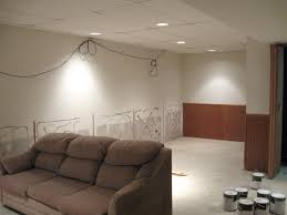 Drop Ceiling For Basement Bathroom by Unfinished Basement Ceiling Ideas