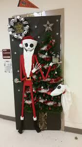 the nightmare before door door decorating