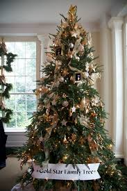 White Christmas Tree Decorated Christmas Tree Decorations Gold Rainforest Islands Ferry