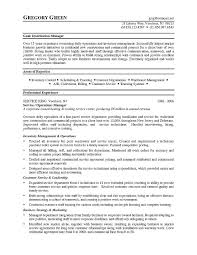 Sample Resume Of Customer Service Manager by Distribution Manager Sample Resume 19 Warehouse Resumes Warehouse