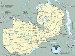 map of zambia map of zambia travel africa