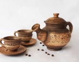 rustic teapot giftforparents earthy tea pot pottery teapot