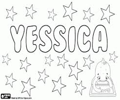 coloring pages jessica name girl names with y coloring pages printable games 2