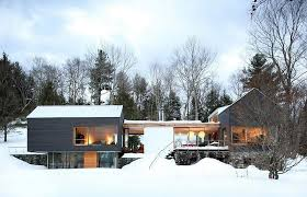 Contemporary Cabin Train Depot To Modern Cottage Conversion