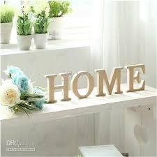 Home Decor Letters | wooden letter home decoration free standing alphabet a z party