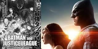 justice league new batman u0026 justice league manga sets release date