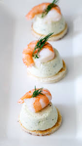 canapes with prawns cucumber mousse and dill shrimp bites easy entertaining