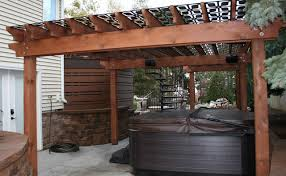 Roof Panels For Patios Olson Privacy Panels And Pergola Screen Transitional Patio