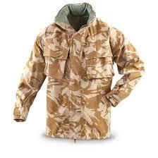 new british military gore tex jacket desert dpm 236237 rain
