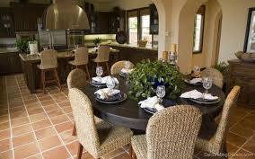 round dining room table decor ideas home design