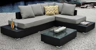 Lounge Patio Furniture Patio Furniture Set Outdoor Modern Contemporary Sectional Lounge