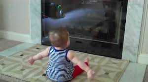 baby vs diy fireplace guard youtube