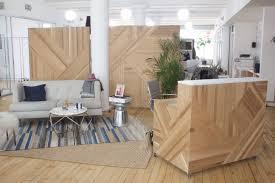 Oak Reception Desk Buy A Hand Made Custom Reception Desk In White Oak And Marble