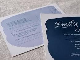 Alannah Rose Wedding Invitations Stationery Navy Watercolor Wedding Invitation By Alannah Rose Weddinglovely