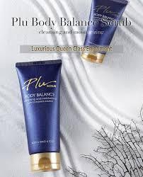 Plu Scrub plu perfume floral scent exfoliating scrub