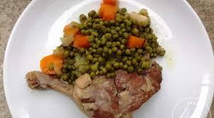 cuisiner des petits pois canard aux petits pois cocotte minute la tendresse en cuisine