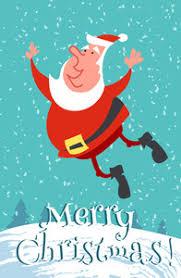happy christmas santa vector cartoon collection royalty free