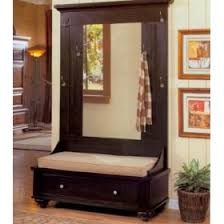 hall tree bench black hall tree with bench storage betterimprovement com