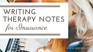 Writing Counselling Session Notes Writing Therapy Notes For Insurance Qa Prep