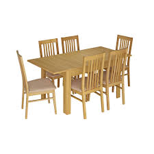 large extending dining table glasswells dalby large extending dining table 6 dining chairs