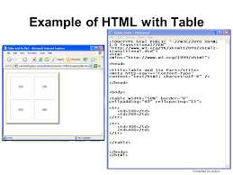 Html Table Font Color Constructing Table By Using Html Ppt Video Online Download