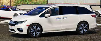 Install Honda Odyssey Roof Rack by 2018 Honda Odyssey Elite Replace Add On Gta5 Mods Com