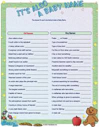 baby shower game it u0027s also a baby name ignore the link it just