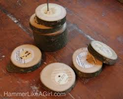 Unique Coasters Coaster Art From Tree Branches Hammer Like A Girlhammer Like A