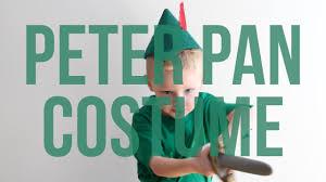 disney u0027s peter pan no sew halloween costume for kids youtube