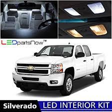 Silverado 2013 Interior Amazon Com Ledpartsnow 2007 2013 Chevy Silverado Led Interior