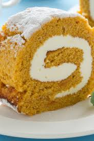 pumpkin roulade with ginger buttercream kitchme