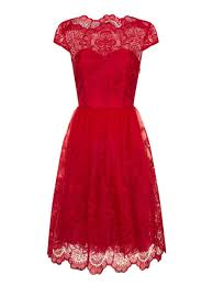 chi chi london metallic lace tea dress house of fraser