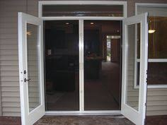 French Patio Doors With Screen by French Patio Doors With Screens Doors For Cool Weather