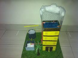 rain water harvesting 3d model projects and craft ideas