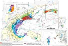 Alps On World Map by Metamorphism Of Metasediments At The Scale Of An Orogen A Key To