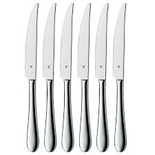 signum steak knife set of 6 wmf americas