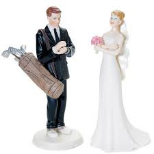and groom cake toppers golf fanatic and groom cake topper wedding cake toppers