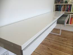 Ikea White Desk Table by Assembly And Review Of The Ikea Besta Burs High Gloss Desk Flat